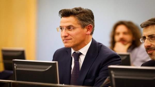El diputado nacional de Ciudadanos por Granada, Luis Salvador