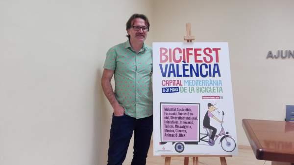 """La I 'Bicifest València' naix amb vocació de convertir la ciutat en """"capital mediterrània de la bicicleta"""""""