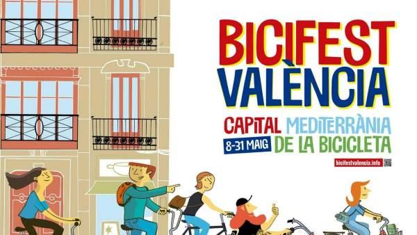 València s'omplirà de formació, tallers, cine i debats amb la celebració de la BiciFest