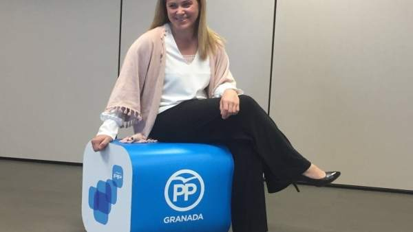 La presidenta del PP de Peligros, Mamen Castillo