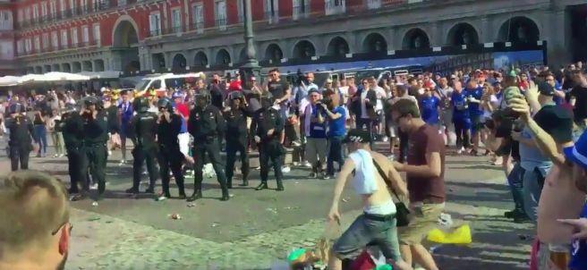 Altercados en la Plaza Mayor