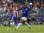 Koke en el Atlético - Leicester