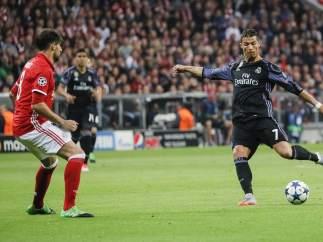 Cristiano ante el Bayern