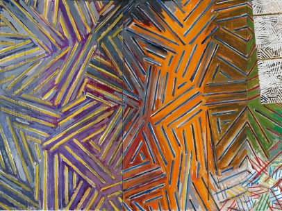 Jasper Johns, Between the Clock and the Bed, 1981