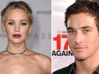 Jennifer Lawrence y Clay Adler
