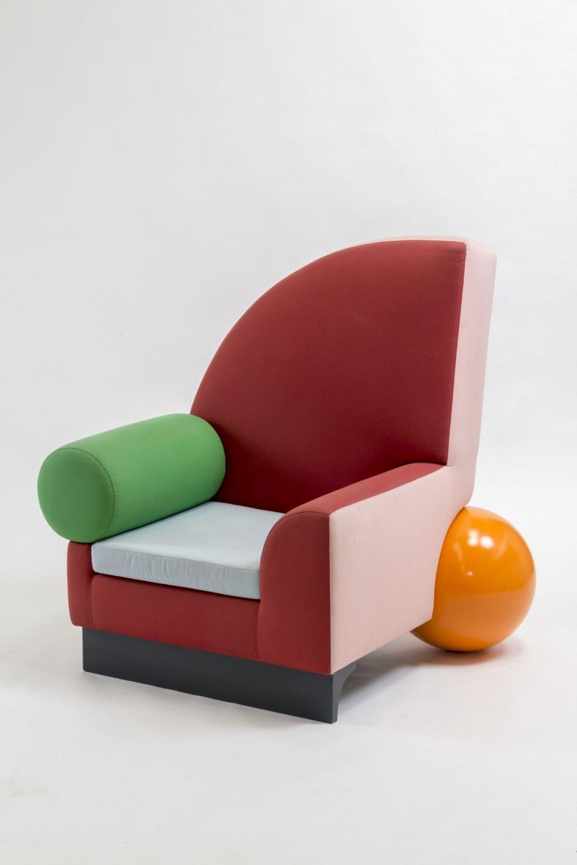 'Bel Air Chair', 1981. Silla 'Bel Air' (1981), diseño de Peter Shire para el Grupo Memphis de Milán