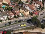 Accidente de tráfico en Sant Fost de Campsentelles (Barcelona)