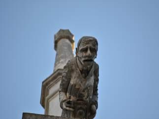 Palencia. Gárgola del fotógrafo de la Catedral de Palencia