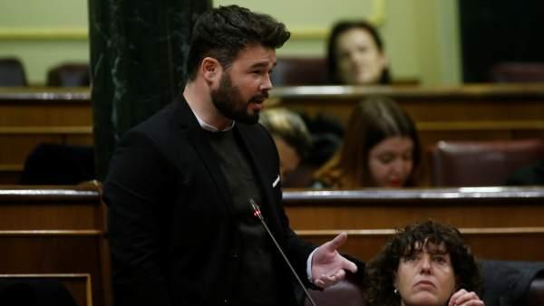 Gabriel Rufián de Esquerra
