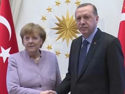 Merkel y Erdogan