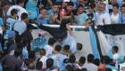 Muere tras ser lanzado desde una grada en Argentina