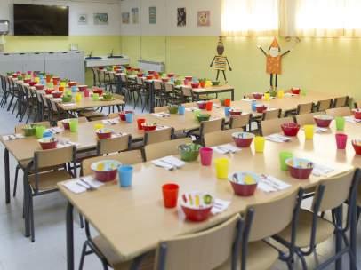 Colegio, escuela, primaria, infantil, niño, niña, niños, comedor escolar.
