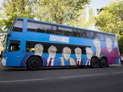 El 'tramabus' recorre Madrid