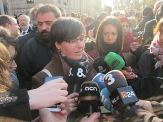La diputada de la CUP en el Parlament Mireia Boya.