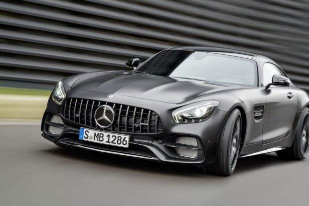 Mercedes-Benz AMG GT Concept. La compañía alemana también ha presentado este vehículo ya visto en el Salón de Ginebra. Se trata de una berlina híbrida con aspecto de cupé con la que se
