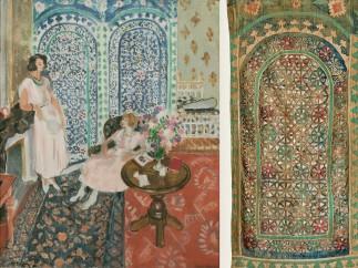 The Moorish Screen , Henri Matisse (French, 1869–1954), 1921 - Haiti, Morocco, late 19th‑early 20th century