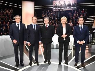Debate Elecciones Francia