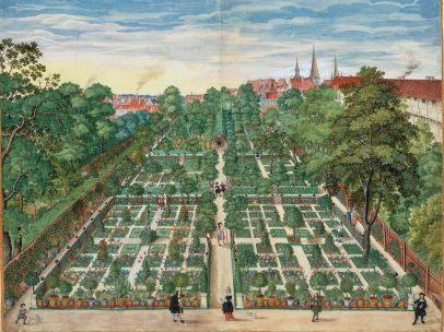 'Horti Anckelmanniani, Tom. I - Der Barockgarten von Caspar Anckelmann in Hamburg,', 1664-1671