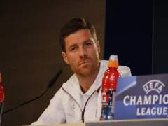 Xabi Alonso en rueda de prensa