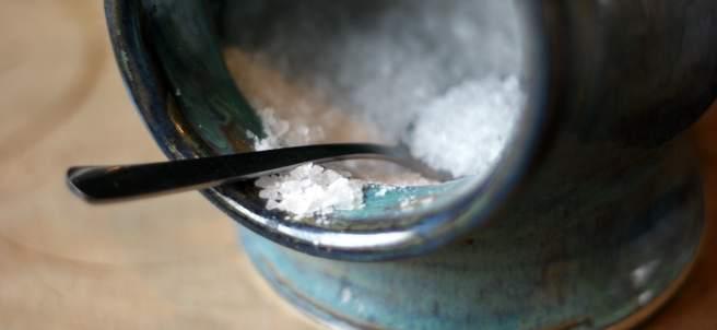 Cucharada de sal