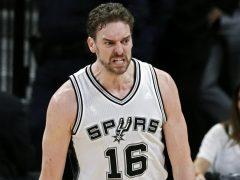 Gasol renueva con los Spurs y jugará en la NBA hasta los 40 años