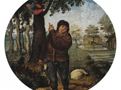Pieter Brueghel the Younger - Robbing the Bird's Nest
