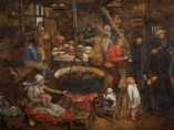 Pieter Brueghel the Younger - Visit to a Farmhouse, c.1620-30