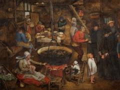 Congregan pinturas de toda la dinastía familiar de los Brueghel