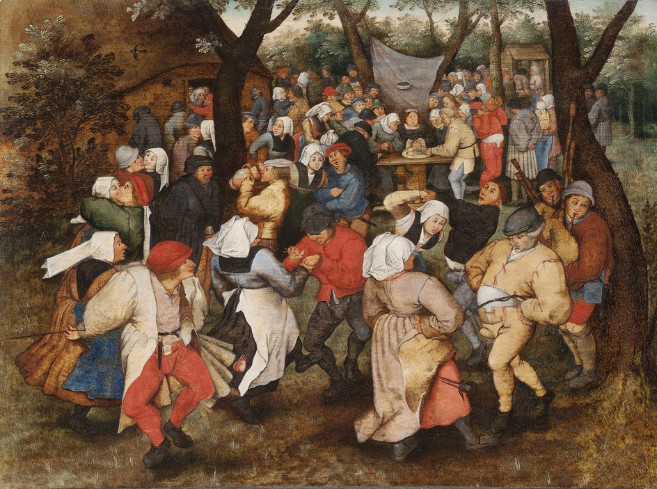 Pieter Brueghel the Younger - Wedding Dance in the Open Air