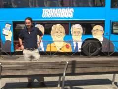 Díaz Ferrán se querella contra Pablo Iglesias por injuriarle con el Tramabús