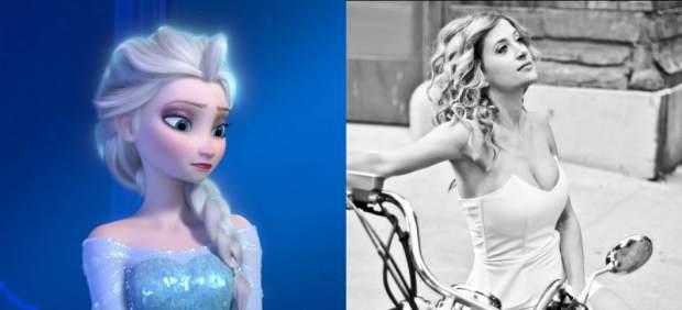 Elsa en la vida real
