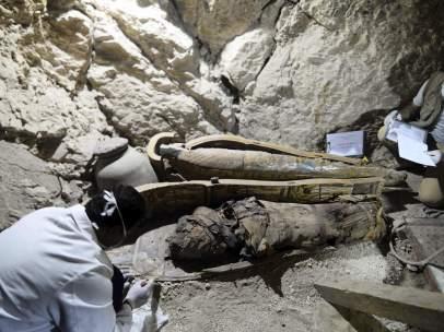 Nueva momia descubierta en Luxor