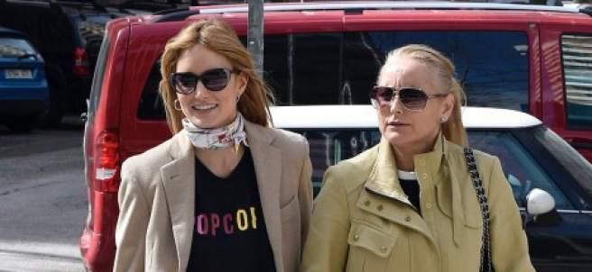 Alba Carrillo y Lucía Pariente
