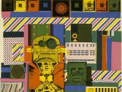 El primer artista que hizo pop, el irreverente escocés Paolozzi