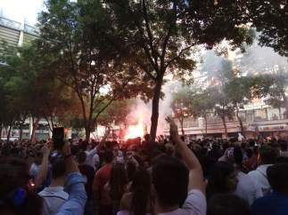 Alrededores del Bernabéu