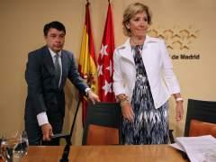Ignacio González señala a Esperanza Aguirre sobre la financiación ilegal del PP