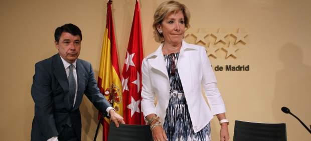 Ignacio González y Esperanza Aguirre