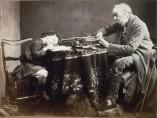 Oscar Gustave Rejlander, Lesson, 1860