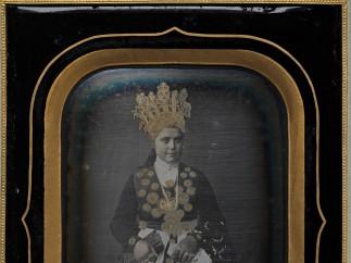Marcus Selmer, Bride from Birkeland, 1855