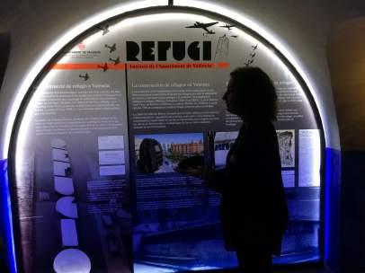 Refugio antiaéreo en el Ayuntamiento de València