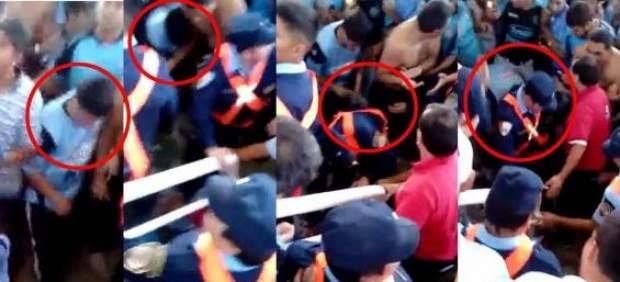 Roban zapatillas al hincha argentino asesinado
