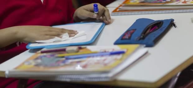 Imagen de archivo de una escuela