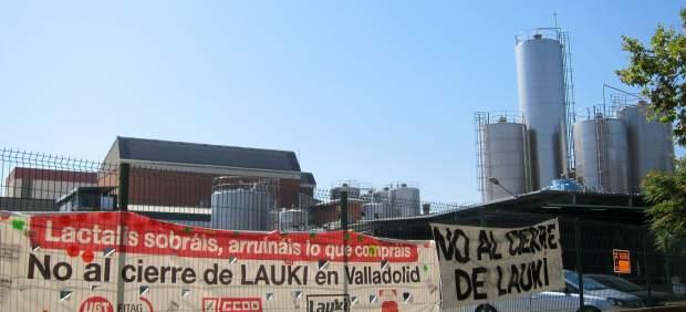 Instalaciones de la planta de Lauki en Valladolid.