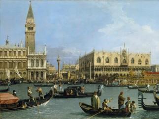 Canaletto, Venice: The Bacino di S. Marco on Ascension Day, c.1733-4