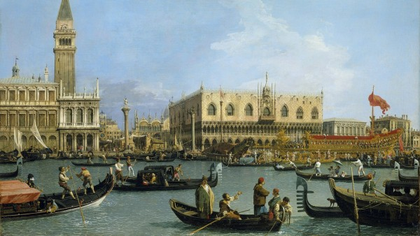 Canaletto, Venice: The Bacino di S. Marco on Ascension Day, c.1733-4