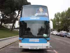 Podemos retrasa la salida de su 'Tramabús'