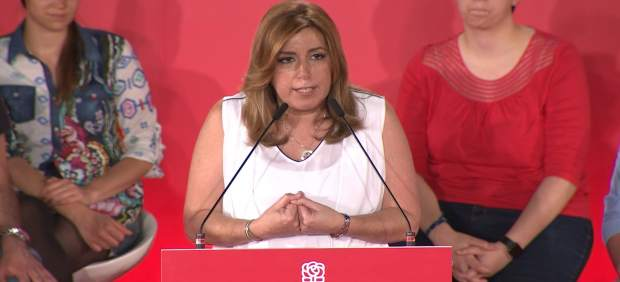 Díaz quiere liderar el PSOE para que no 'imite a nadie'