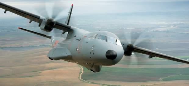 Avión de transporte militar C295