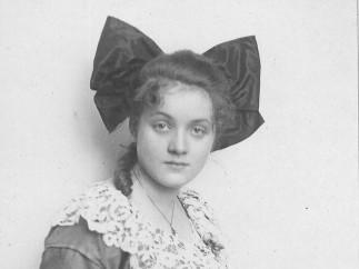 Marlene Dietrich by Joël-Heinzelmann Atelier Photograph, 1918