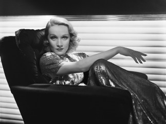 Marlene Dietrich by George Hurrell - Photo blow-up 1937